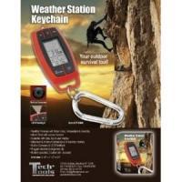 Weather Station Key Chain